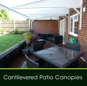 Cantilevered Patio Canopies