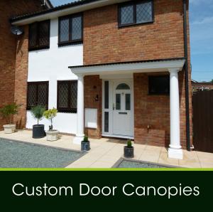 Custom Door Canopies